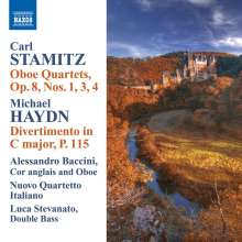 Carl Stamitz (1745-1801): Oboenquartette op.8 Nr.1,3,4, CD