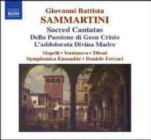 Giovanni Battista Sammartini (1701-1775): Kantaten, CD