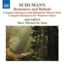 """Robert Schumann (1810-1856): Chorwerke """"Romanzen & Balladen"""", CD"""