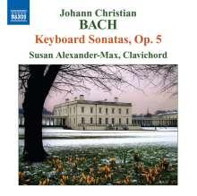 Johann Christian Bach (1735-1782): Cembalosonaten op.5 Nr.1-6, CD