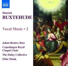 Dieterich Buxtehude (1637-1707): Vokalmusik Vol.2, CD