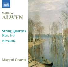 William Alwyn (1905-1985): Streichquartette Nr.1-3, CD