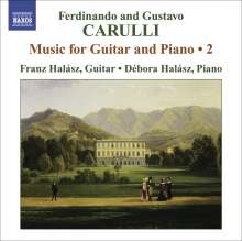 Ferdinando Carulli (1770-1841): Werke für Gitarre & Klavier Vol.2, CD