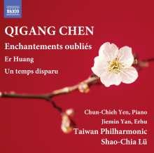 Qigang Chen (geb. 1951): Enchantements oublies für Har, Klavier, Celesta, Timpani, Percussion & Streichorchester, CD