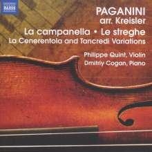 Fritz Kreisler (1875-1962): Paganini-Arrangements für Violine & Klavier, CD