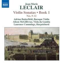 Jean Marie Leclair (1697-1764): Sonaten für Violine & Bc Heft 1 Nr.9-12, CD