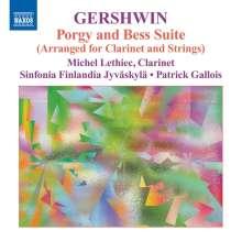 George Gershwin (1898-1937): Porgy & Bess-Suite (arrangiert für Klarinette & Streicher), CD