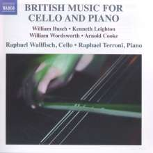 Raphael Wallfisch & Raphael Terroni - British Music for Cello and Piano, CD