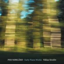 Per Nörgard (geb. 1932): Frühe Klavierwerke, Super Audio CD