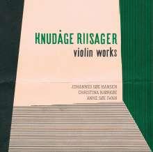 Knudage Riisager (1897-1974): Kammermusik mit Violine, Super Audio CD