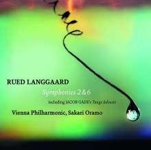 Rued Langgaard (1893-1952): Symphonien Nr.2 & 6, Super Audio CD