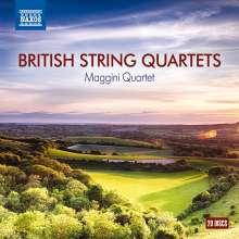 Maggini Quartet - British String Quartets, 20 CDs