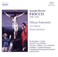 Joseph Hector Fiocco (1704-1741): Missa Solemnis, CD