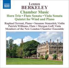 Lennox Berkeley (1903-1989): Kammermusik, CD