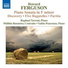Howard Ferguson (1908-1999): Klaviersonate f-moll, CD