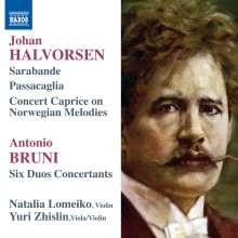 Antonio Bartolomeo Bruni (1757-1821): Duo Concertanti Nr.1-6 für Violine & Viola, CD