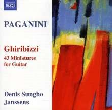 Niccolo Paganini (1782-1840): Ghiribizzi Nr.1-43 für Gitarre, CD