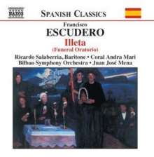 Francisco Escudero (1912-2002): Illeta (Oratorium), CD