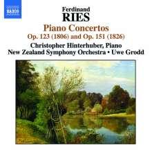 Ferdinand Ries (1784-1838): Klavierkonzerte Vol.1, CD