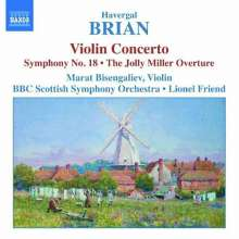 Havergal Brian (1876-1972): Symphonie Nr.18, CD