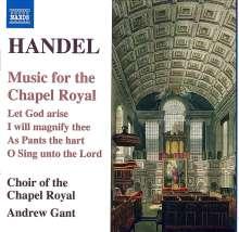 "Georg Friedrich Händel (1685-1759): Chorwerke ""Music for the Chapel Royal"", CD"