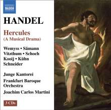 Georg Friedrich Händel (1685-1759): Hercules, 3 CDs