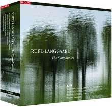 Rued Langgaard (1893-1952): Symphonien Nr.1-16, 7 Super Audio CDs