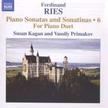 Ferdinand Ries (1784-1838): Klaviersonaten & Sonatinen Vol.6, CD