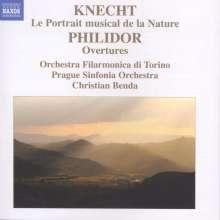 """Justin Heinrich Knecht (1752-1817): Grande Simphonie """"Le Portrait musical de la Nature"""", CD"""