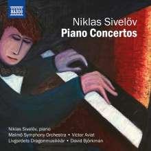 Niklas Sivelöv (geb. 1968): Klavierkonzerte, CD