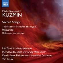 "Mikhail Kuzmin (1872-1936): Orchestermusik zu ""The Society of Honoured Bell Ringers"", CD"