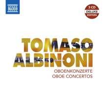 Tomaso Albinoni (1671-1751): Oboenkonzerte, 3 CDs