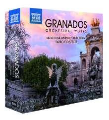 Enrique Granados (1867-1916): Orchesterwerke, 3 CDs