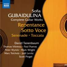 Sofia Gubaidulina (geb. 1931): Sämtliche Gitarrenwerke, CD