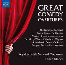 Royal Scottish National Orchestra - Great Comedy Overtures, CD