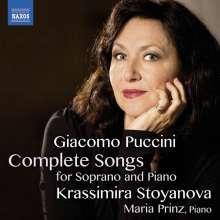 Giacomo Puccini (1858-1924): Sämtliche Lieder für Sopran & Klavier, CD
