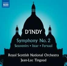 Vincent d'Indy (1851-1931): Symphonie Nr.2 op.57, CD