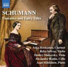 "Robert Schumann (1810-1856): Kammermusik ""Fantasies and Fairy Tales"", CD"