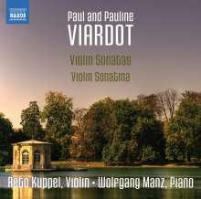 Paul Viardot (1821-1910): Violinsonaten Nr.1-3, CD