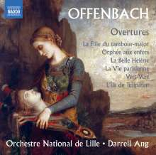 Jacques Offenbach (1819-1880): Ouvertüren, CD