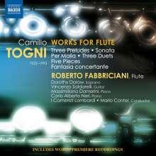 Camillo Togni (1922-1993): Kammermusik für Flöte, CD