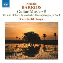 Agustin Barrios Mangore (1885-1944): Gitarrenwerke Vol.5, CD