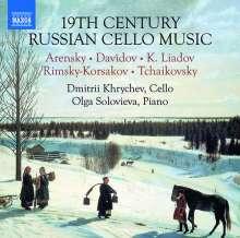 19th Century Russian Cello Music, CD