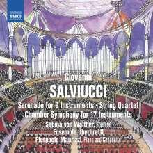 Giovanni Salviucci (1907-1937): Sinfonia da camera für 17 Instrumente, CD