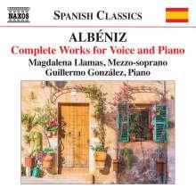 Isaac Albeniz (1860-1909): Lieder, CD