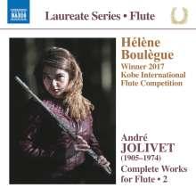 Andre Jolivet (1905-1974): Werke für Flöte Vol.2, CD