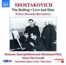 Dmitri Schostakowitsch (1906-1975): The Bedbug op.19 (Bühnenmusik), CD
