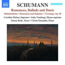 Robert Schumann (1810-1856): Romanzen, Balladen & Duette, CD