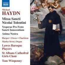 Michael Haydn (1737-1806): Missa Sancti Nicolai Tolentini MH 109, CD