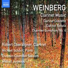 Mieczyslaw Weinberg (1919-1996): Klarinettenkonzert op.104, CD